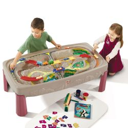SP754700_18 Joc  Deluxe Canyon Road Train and Track Table STEP2 Multicolor
