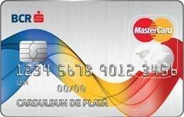Card de plata in rate BCR